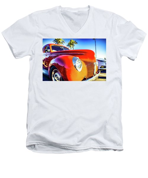 Vintage Vibrance Men's V-Neck T-Shirt
