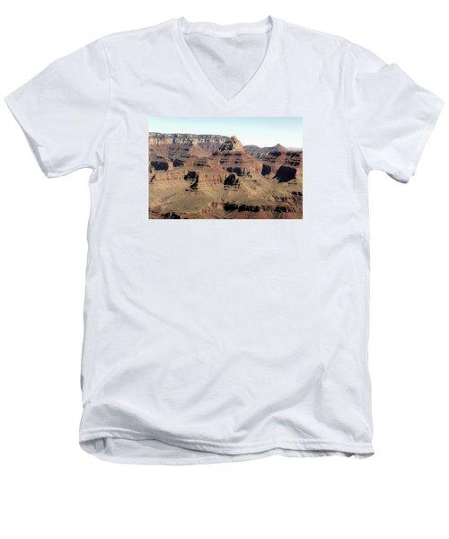 Vishnu Temple Grand Canyon National Park Men's V-Neck T-Shirt