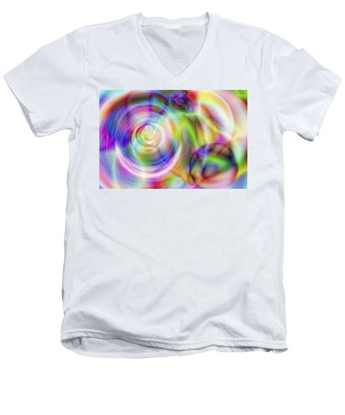 Vision 7 Men's V-Neck T-Shirt