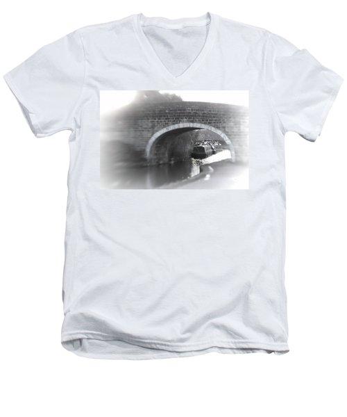 Visit To An Old Friend Men's V-Neck T-Shirt