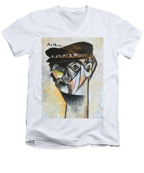 Vitae The Old Man  Men's V-Neck T-Shirt