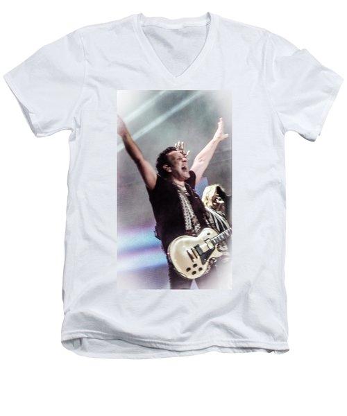 Vivian Campbell - Campbell Tough Men's V-Neck T-Shirt by Luisa Gatti