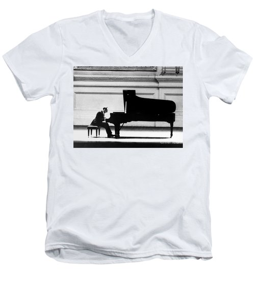 Vladimir Horowitz Men's V-Neck T-Shirt by Granger