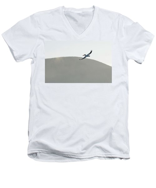 Men's V-Neck T-Shirt featuring the photograph Voyager by Brian Duram