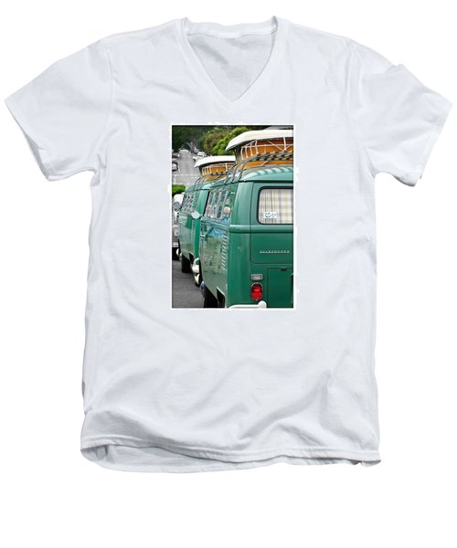 Vw Buses #carphotographer #vw #vwbus Men's V-Neck T-Shirt