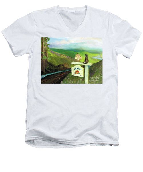 Waiting For Andy Men's V-Neck T-Shirt