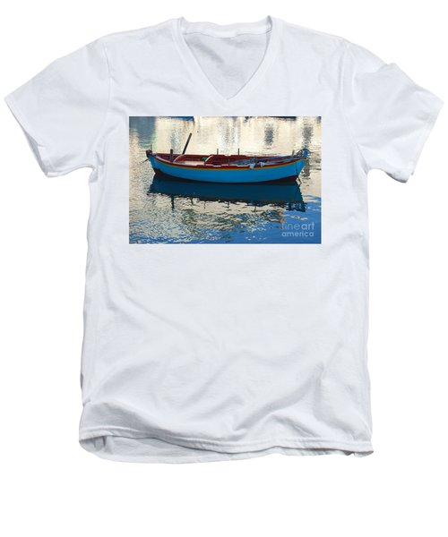 Waiting To Go Fishing Men's V-Neck T-Shirt