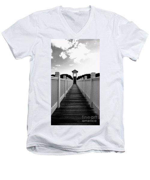 Walk To The Beach Men's V-Neck T-Shirt