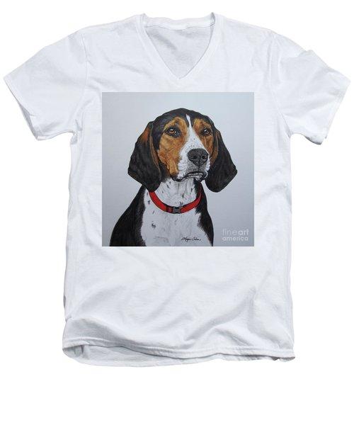 Walker Coonhound - Cooper Men's V-Neck T-Shirt