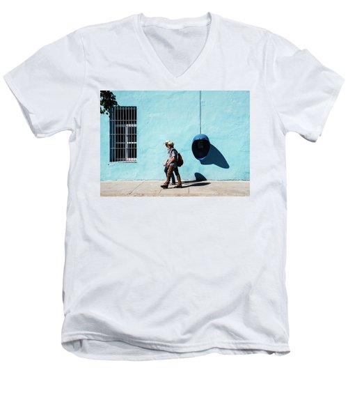 Walking Hats Men's V-Neck T-Shirt