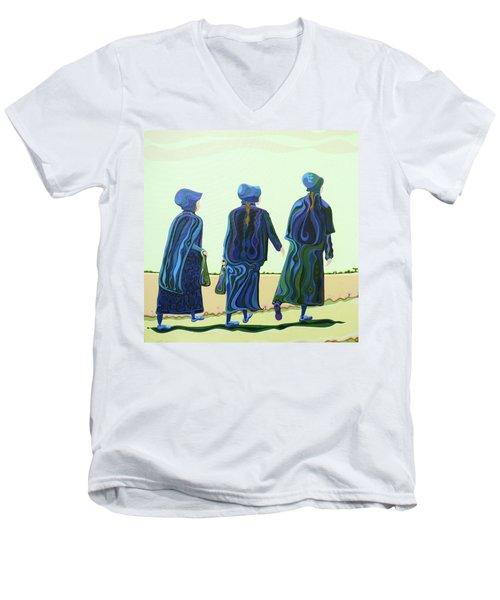 Walking The Walk Men's V-Neck T-Shirt