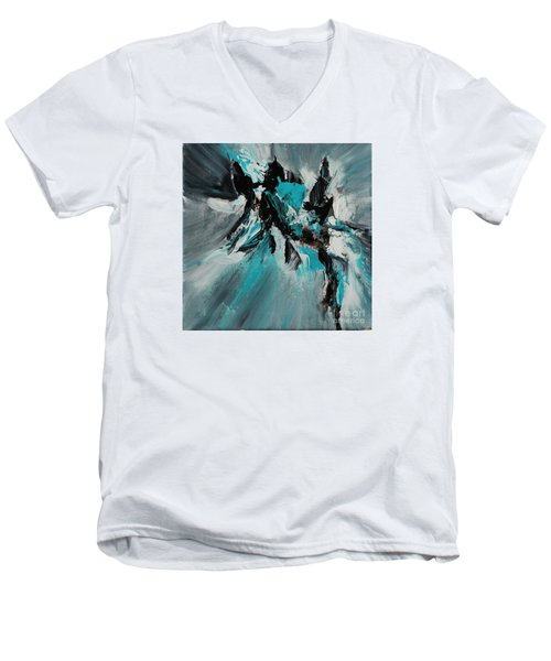 Walking Waves-2 Men's V-Neck T-Shirt