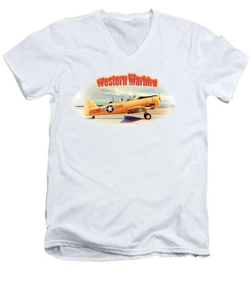 Warbird Touchdown Men's V-Neck T-Shirt