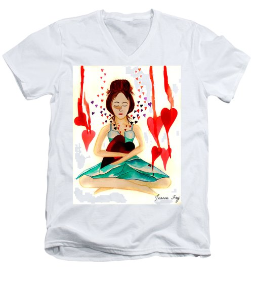 Warrior Woman - Tend To Your Heart Men's V-Neck T-Shirt