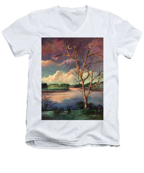 Was Like Stained Glass Men's V-Neck T-Shirt