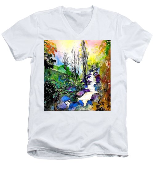 Water And Air Men's V-Neck T-Shirt