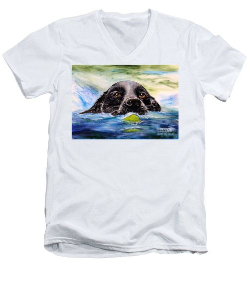 Water Dog Men's V-Neck T-Shirt
