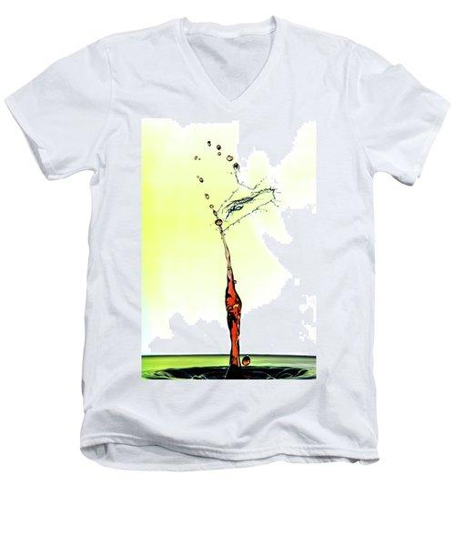 Water Drop #6 Men's V-Neck T-Shirt
