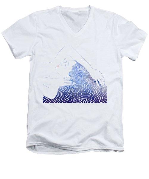 Water Nymph Lxxix Men's V-Neck T-Shirt
