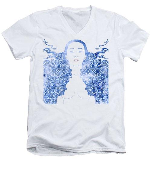 Water Nymph Lxxx Men's V-Neck T-Shirt