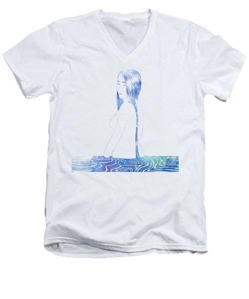 Water Nymph Xcii Men's V-Neck T-Shirt