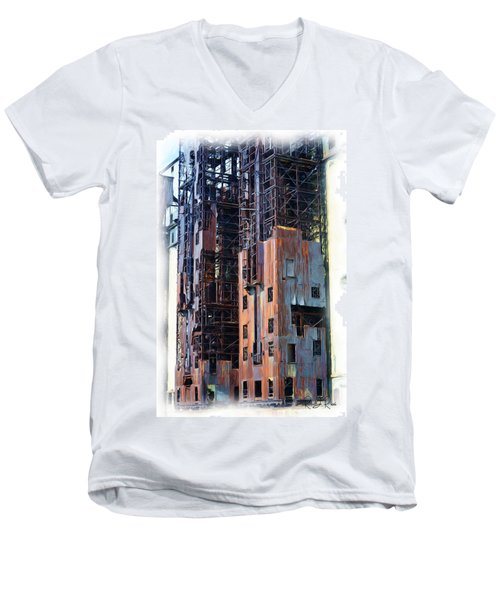 Waterfront Decay One Men's V-Neck T-Shirt