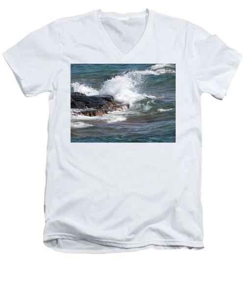 Wave Length Men's V-Neck T-Shirt