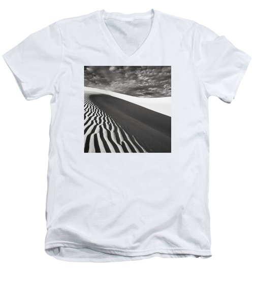 Men's V-Neck T-Shirt featuring the photograph Wave Theory Vii by Ryan Weddle