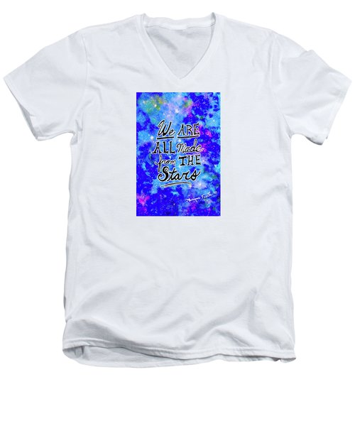We Are All Made From The Stars Men's V-Neck T-Shirt