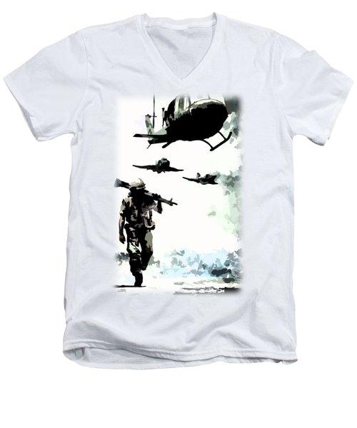 We Come Home Men's V-Neck T-Shirt