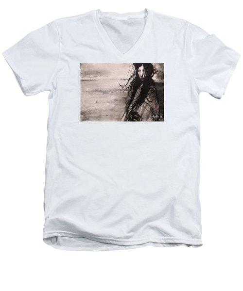 We Dreamed Our Dreams Men's V-Neck T-Shirt by Jarmo Korhonen aka Jarko