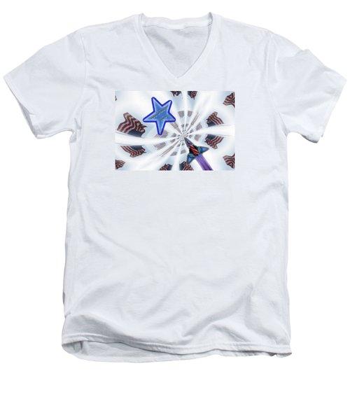 We Salute You Men's V-Neck T-Shirt
