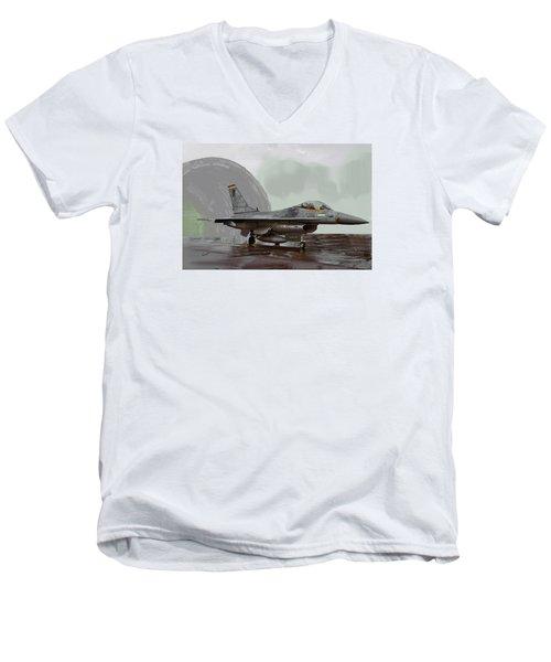 Weather Day 1274 Men's V-Neck T-Shirt