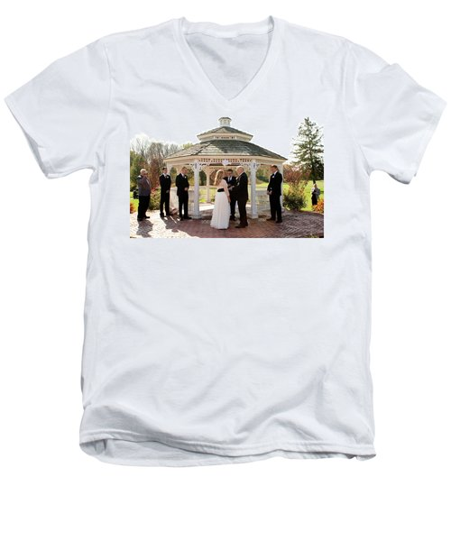 Wedding 2-3 Men's V-Neck T-Shirt