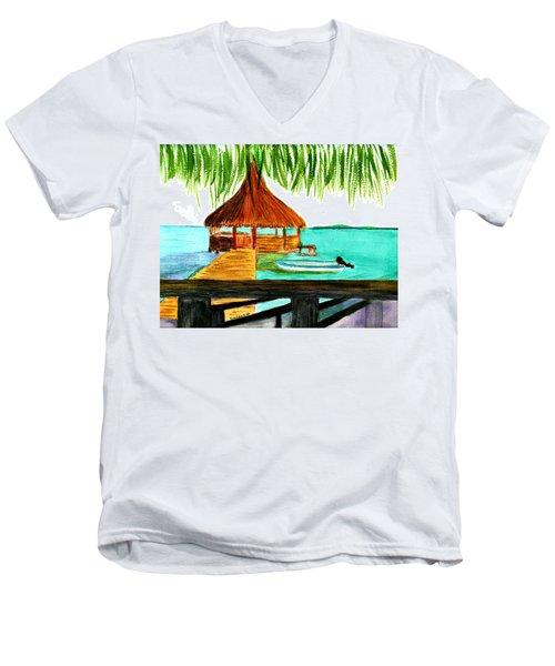 West End Roatan Men's V-Neck T-Shirt