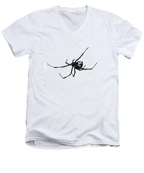 Western Black Widow Men's V-Neck T-Shirt
