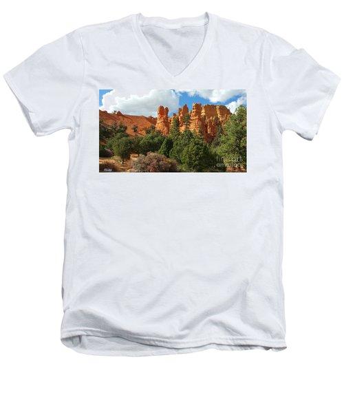 Western Skies Men's V-Neck T-Shirt