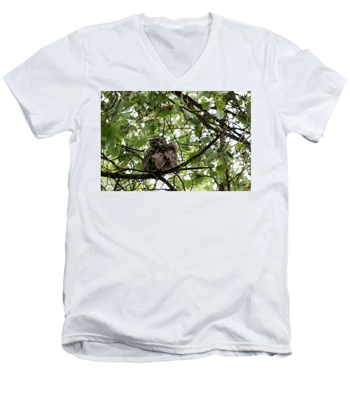 Wet Owl - Wide View Men's V-Neck T-Shirt