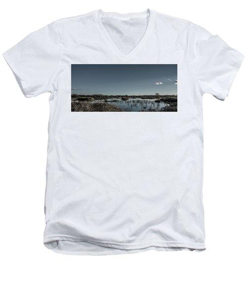 Wetlands Desaturated  Men's V-Neck T-Shirt