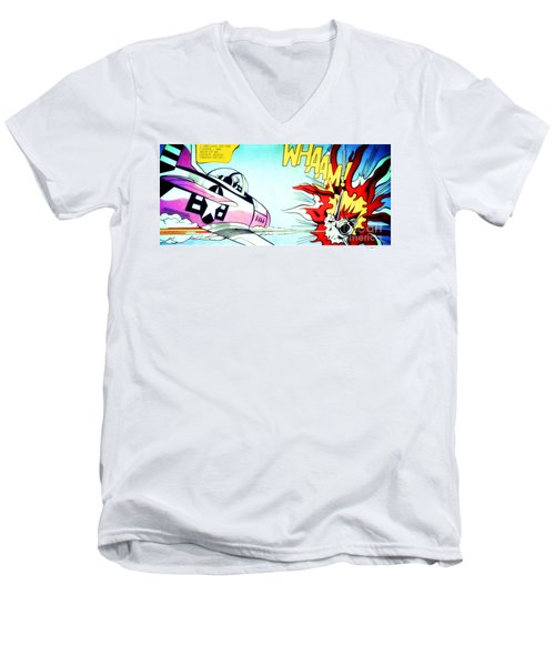 Whaam Men's V-Neck T-Shirt