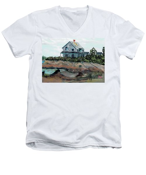 Whales Of August House Men's V-Neck T-Shirt