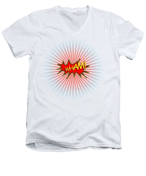Wham Explosion Men's V-Neck T-Shirt