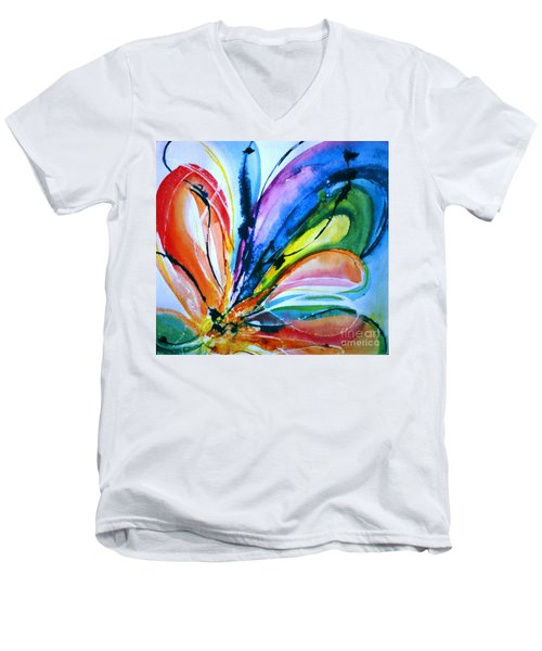 What A Fly Dreams Men's V-Neck T-Shirt