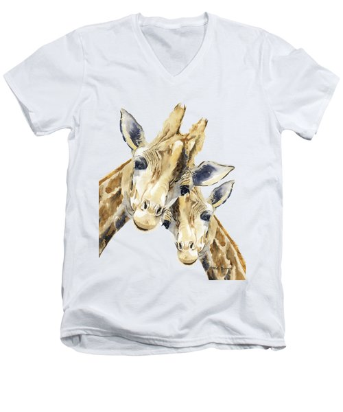What Are You Doing? Men's V-Neck T-Shirt
