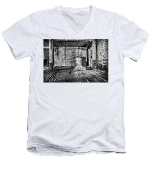 What Awaits Outside Men's V-Neck T-Shirt