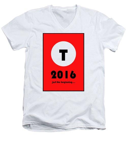 What If? Men's V-Neck T-Shirt