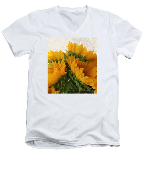 When The Autumn And Winter Meet By Jasna Gopic Men's V-Neck T-Shirt by Jasna Gopic