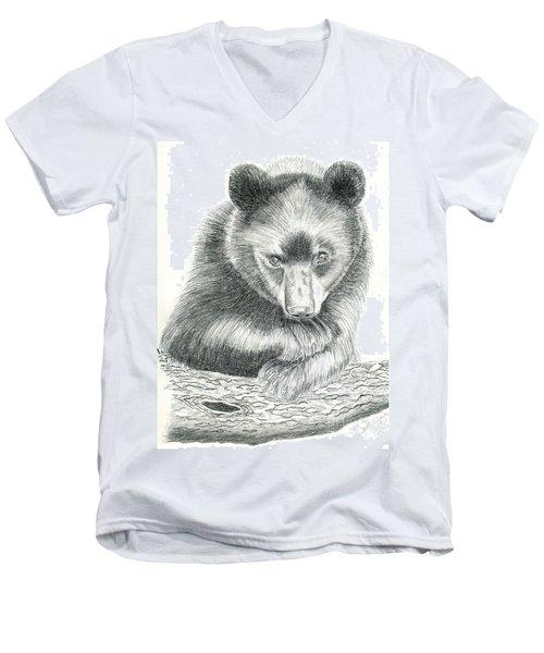 Where Men's V-Neck T-Shirt