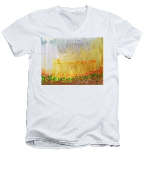 Where The Tall Grass Grows Men's V-Neck T-Shirt