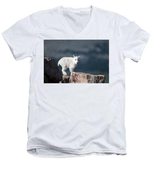 Where's Mom? Men's V-Neck T-Shirt
